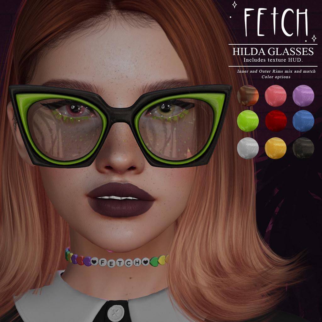 [Fetch] Hilda Glasses @ Hocus Pocus!
