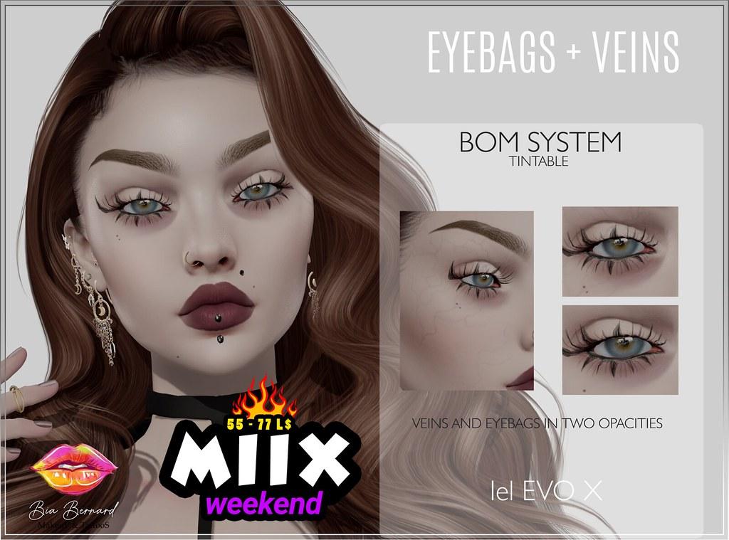 Miix_BBStore_Eyebags and Veins – BOM – Lelutka Evo X