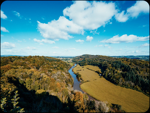 The view from Symonds Yat Rock