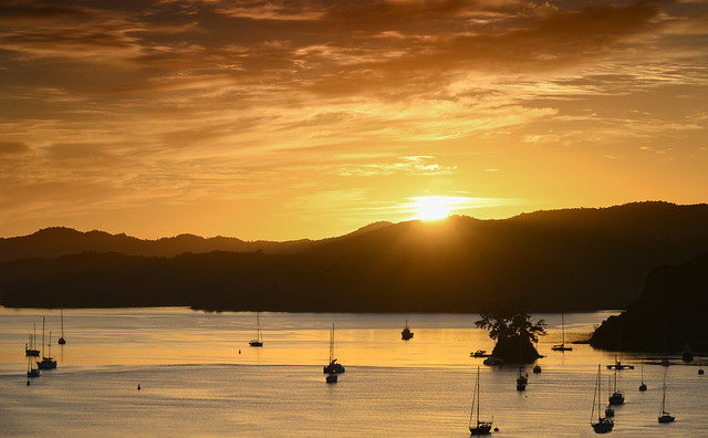 Pine Island orange sunrise 6.43am