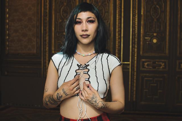Lee Eye, artista colombiana