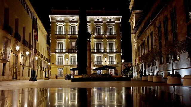 Palast des Marquis de la Scala.