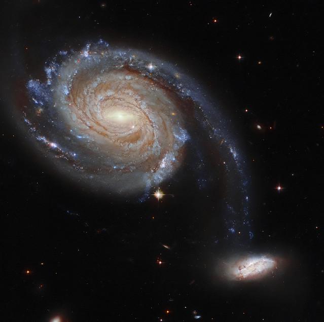 Hubble Watches an Intergalactic Dance