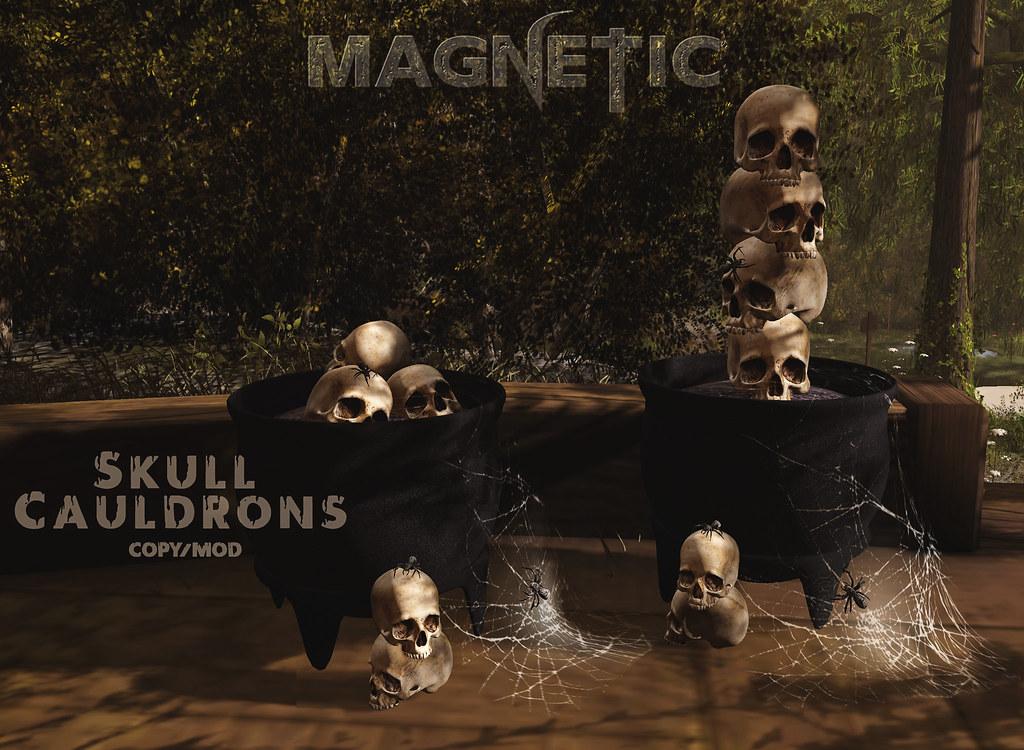 Magnetic – Skull Cauldrons
