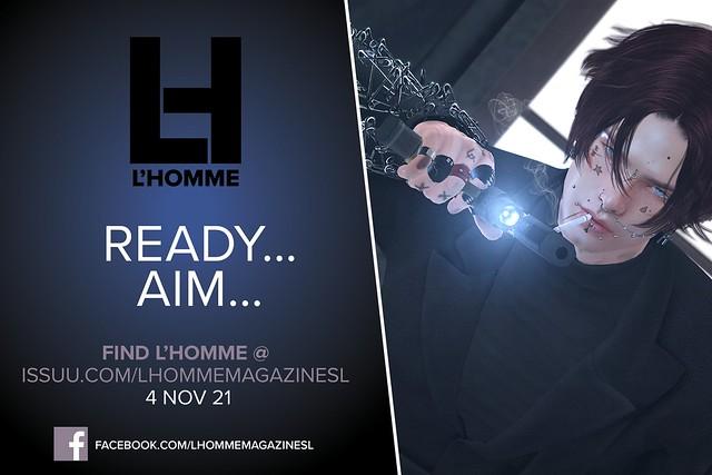 L'Homme Magazine SL November 2021 TEASER