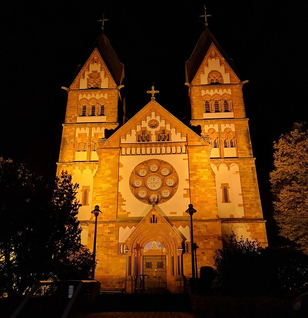 St. Lutwinus Church in Mettlach