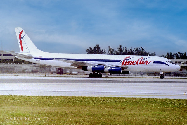 FINEAIR DC-8 N54FA