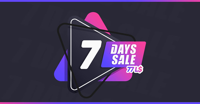 7DaysSale Is Back With Beautiful Bargains!