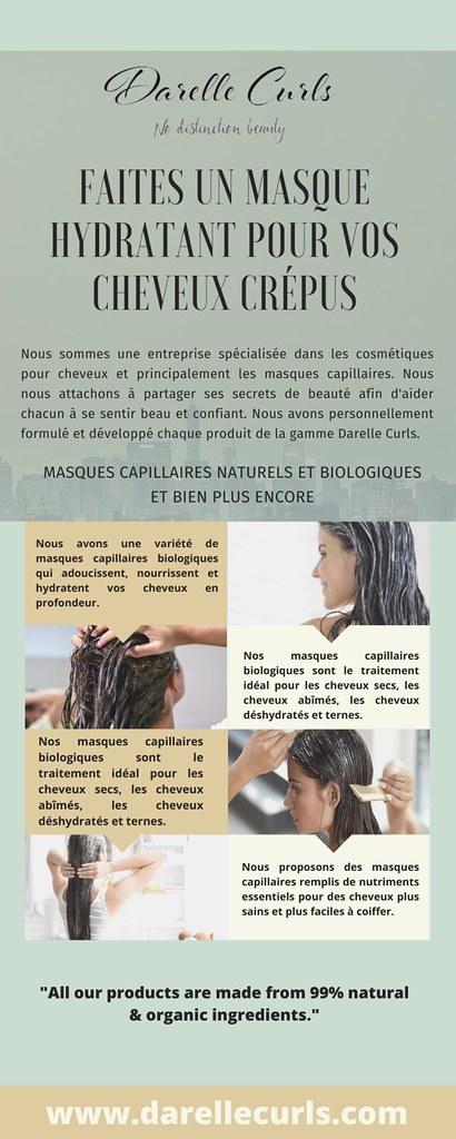 Faites un masque hydratant pour vos cheveux crépus | Darelle Curls