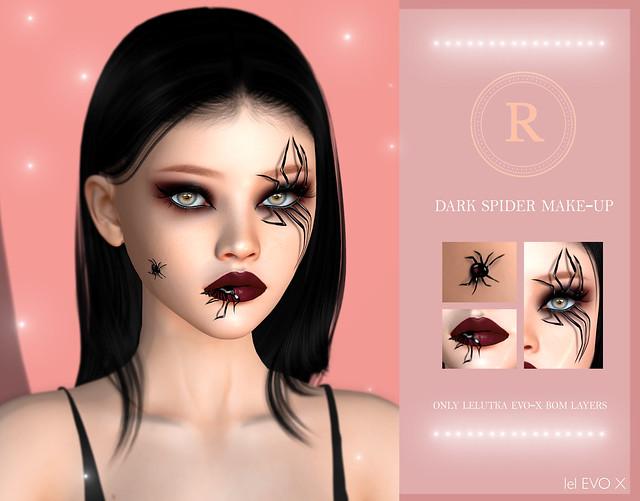 Dark Spider Make-Up ♥