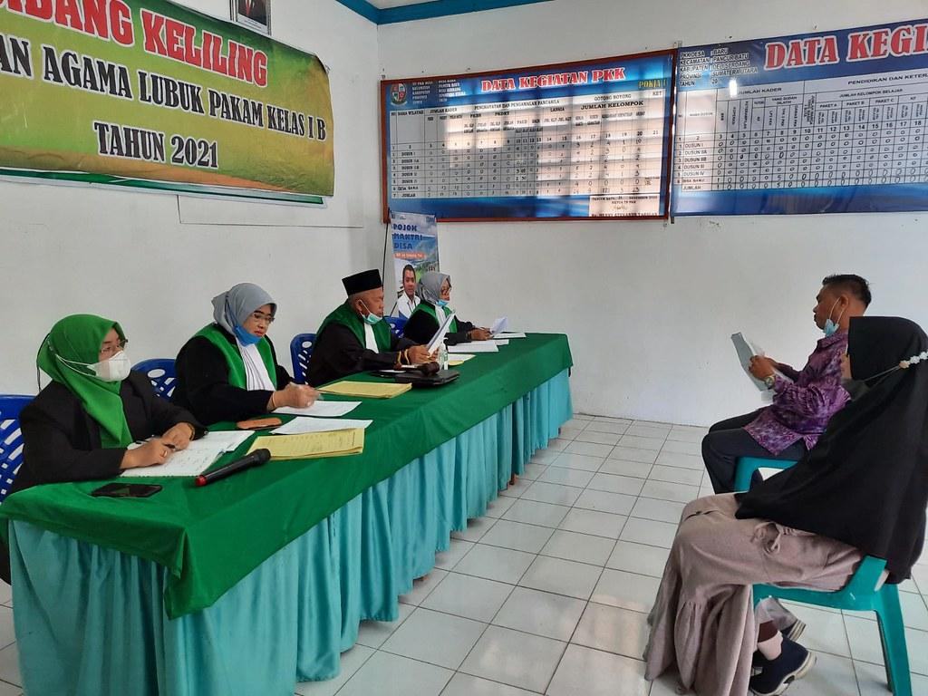 Pelaksanaan Sidang Keliling di Desa Baru Kecamatan Pancur Batu Berjalan Lancar | (25/10)