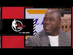 NBA 75th Anniversary Team: Magic reacts to his All-Time Contemporary Players List | NBA Today