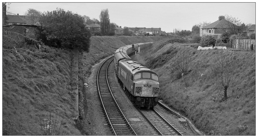 Approaching Tyseley (gbw,77/23/03)