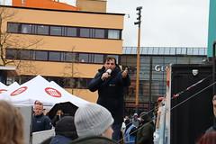 Thierry Baudet (FVD) in Leeuwarden