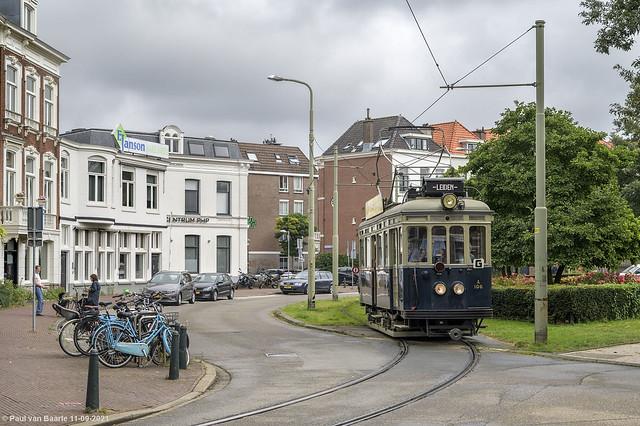 Den Haag - NZH A 106 : de Blauwe Tram, 11-09-2021