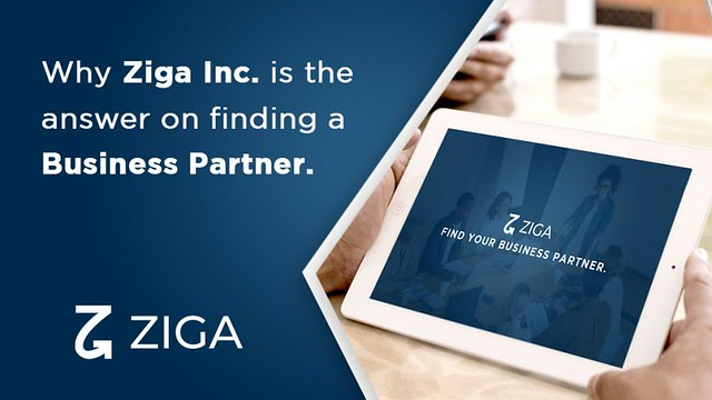 Why Ziga Inc. is the answer on finding a business partner   Ziga App
