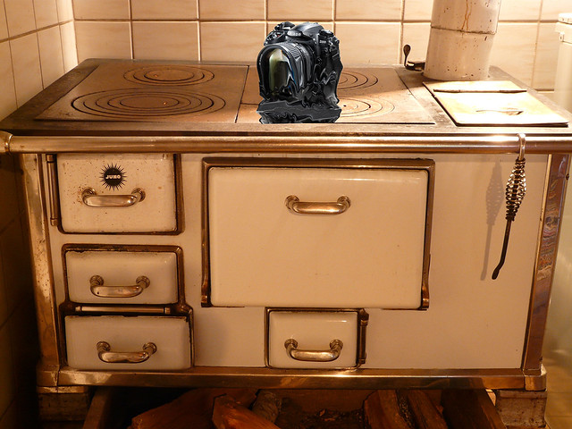 Be Careful Where you set Down That New Camera at Grandma's House.