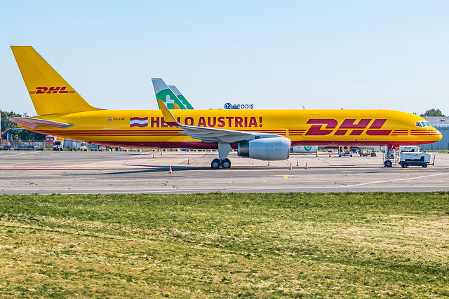 DHL Air Austria / B752F / OE-LNZ / LFRS