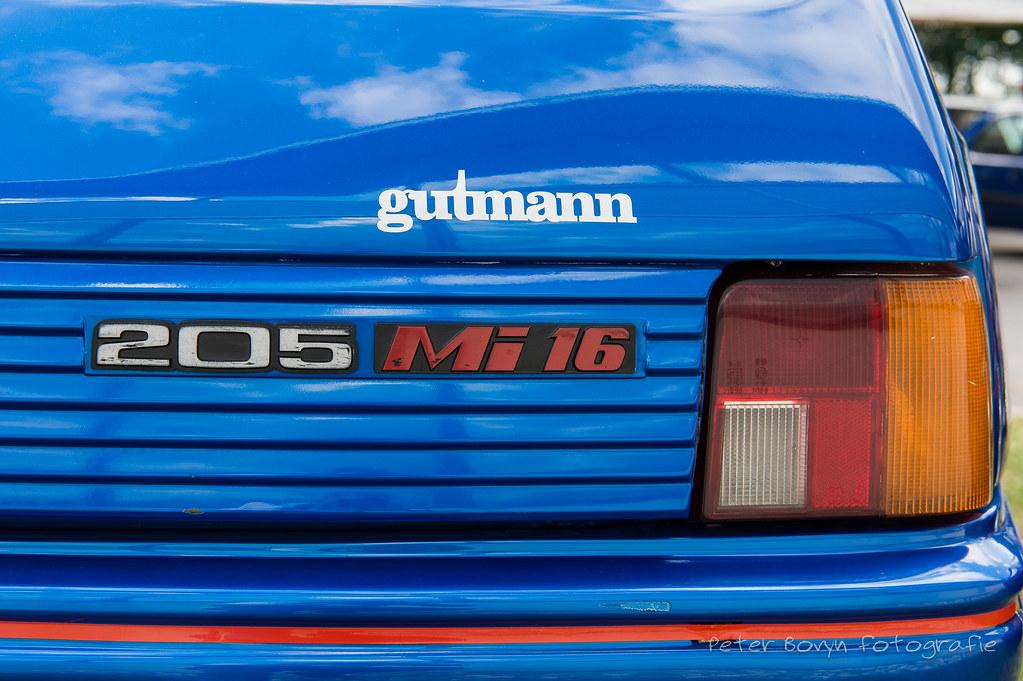 Peugeot 250 GTI Mi16 'Gutmann' - 1988