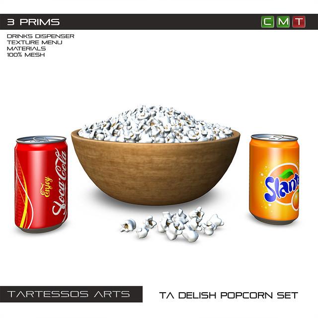 TA Delish Popcorn Set