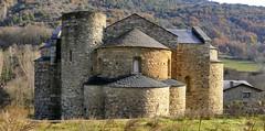 Saint Serni de Tavérnoles (L'Alt Urgel, Lleida, Catalunya, Sp) – El monasterio – Ábside.