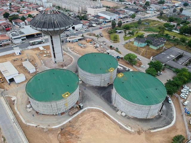 Centro de Reservação Tomba, Empresa Baiana de Águas e Saneamento - EMBASA