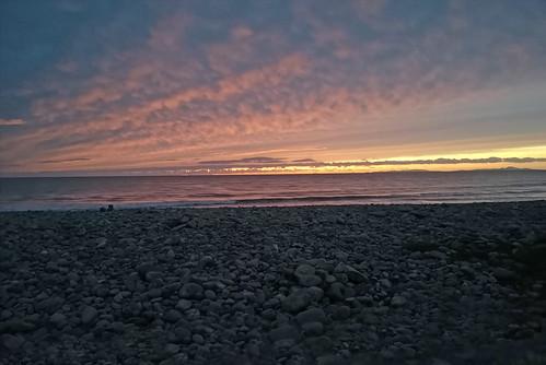 Sunset at Fairbourne