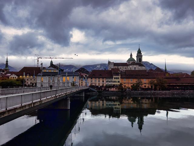 Aare and Kreuzacker Bridge