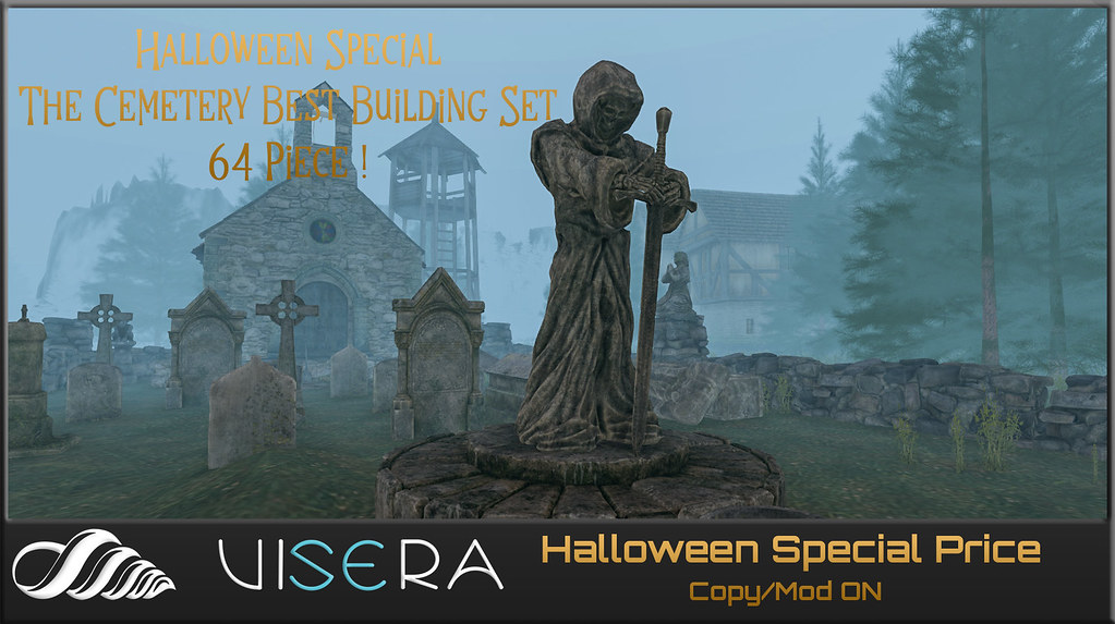 NEW* Halloween Special (The Best Cemetery Building Set)