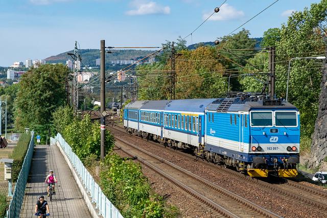 163 097-9 ČD Ústí nad Labem Czech Republic 08.09.18