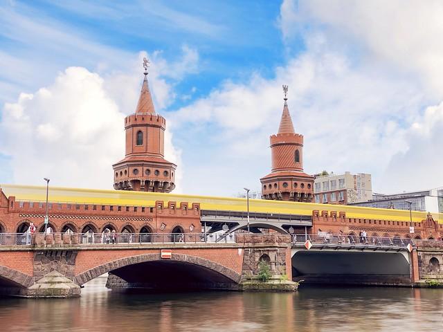 Berlin's most beautiful building, the Oberbaumbrücke!