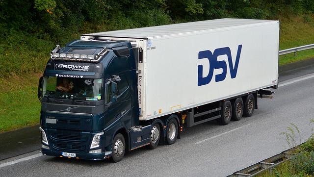 IRL - Volvo FH4 Globetrotter XL - Browne Transport