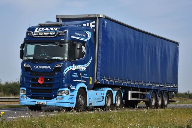LOANE TRANSPORT - TIG 3140 - SCANIA S580