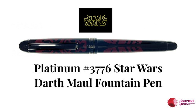 Platinum #3776 Star Wars Darth Maul Fountain Pen