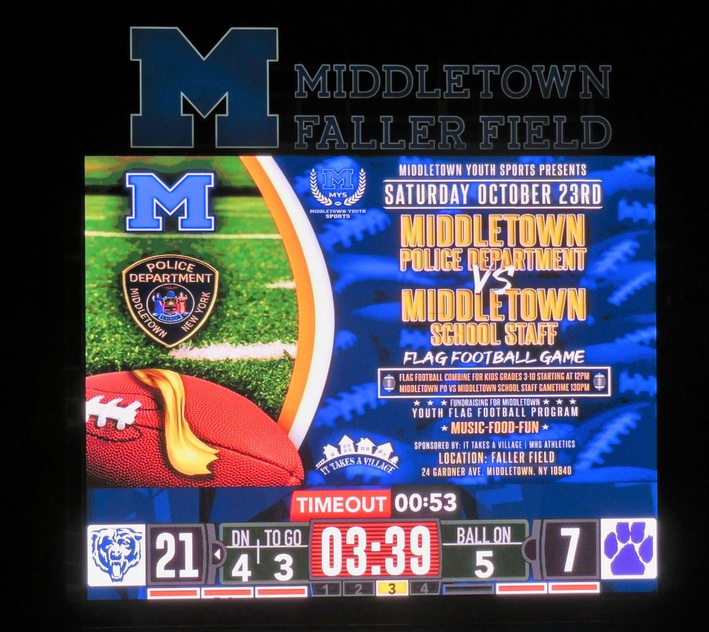 Warwick vs Middletown, Middletown, New York