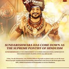 Each of Sundareu015bvara u2019s dimensions are recorded as His one leela. #Nithyananda #Kailasa Live now: Ask your Questions/Healings/Blessings https://ift.tt/3m57JOq #LIVE SUNDARESHWARA PARAMASHIVA SAYUJYA SAMADHI DARSHAN AT 10PM IST / 9:30AM PST Live in https:/