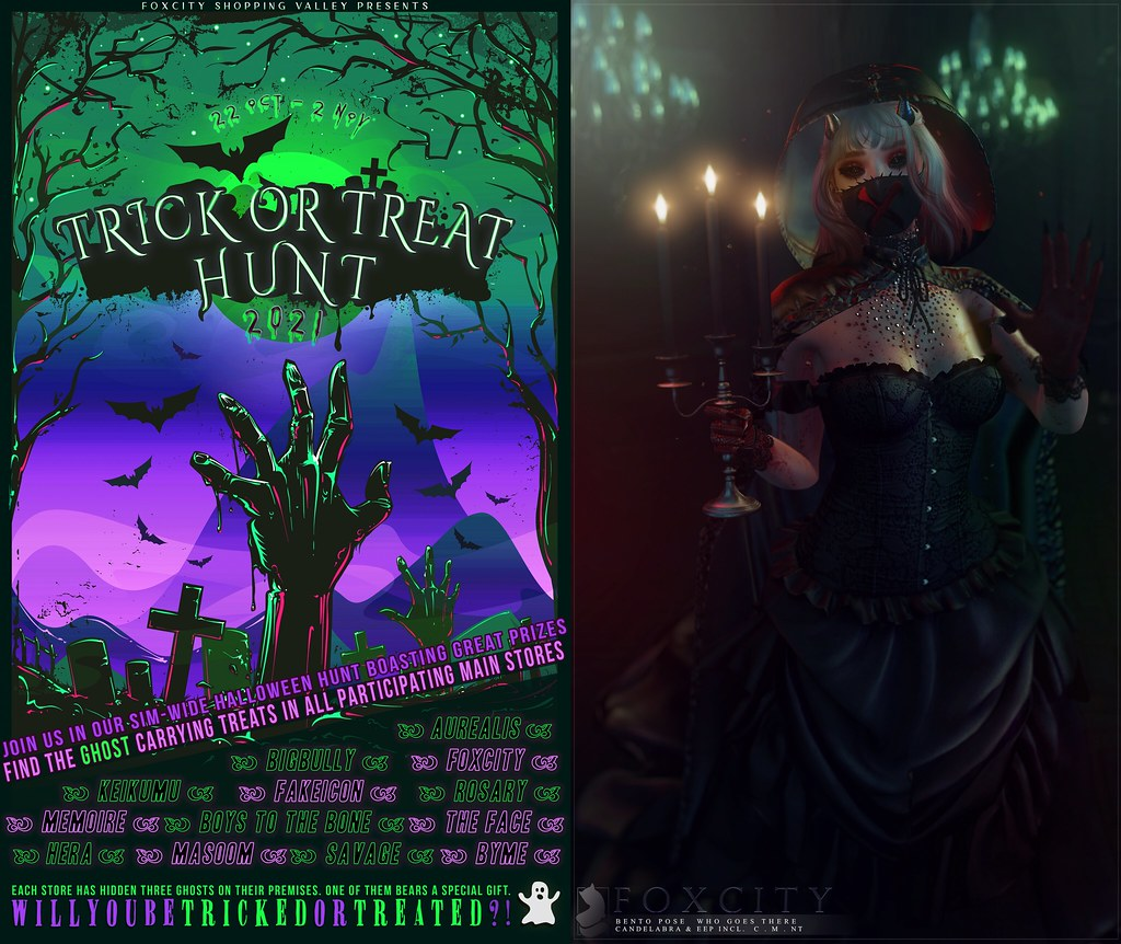 FOXCITY's Annual Trick or Treat Hunt is back!