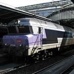 Paris: SNCF série CC 72100, Gare d'Est (Paris 10e)