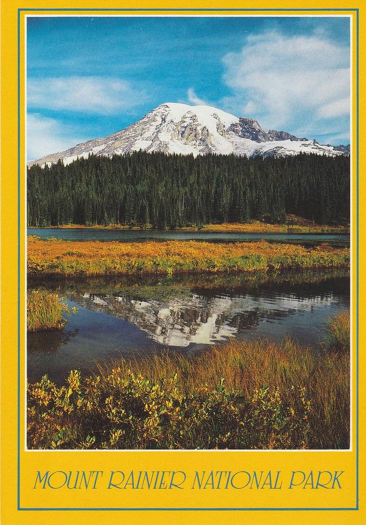 Lac Reflection, Mount Rainier National Parl, État de Washington - photo de Craig Tuttle