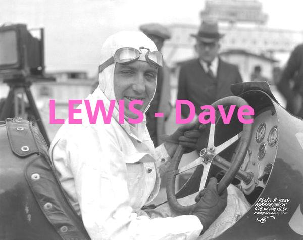 Lewis - Dave lewis