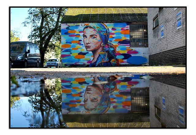 LONDON STREET ART by JIMMY.C.