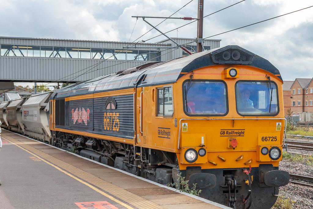 66725 at Peterborough