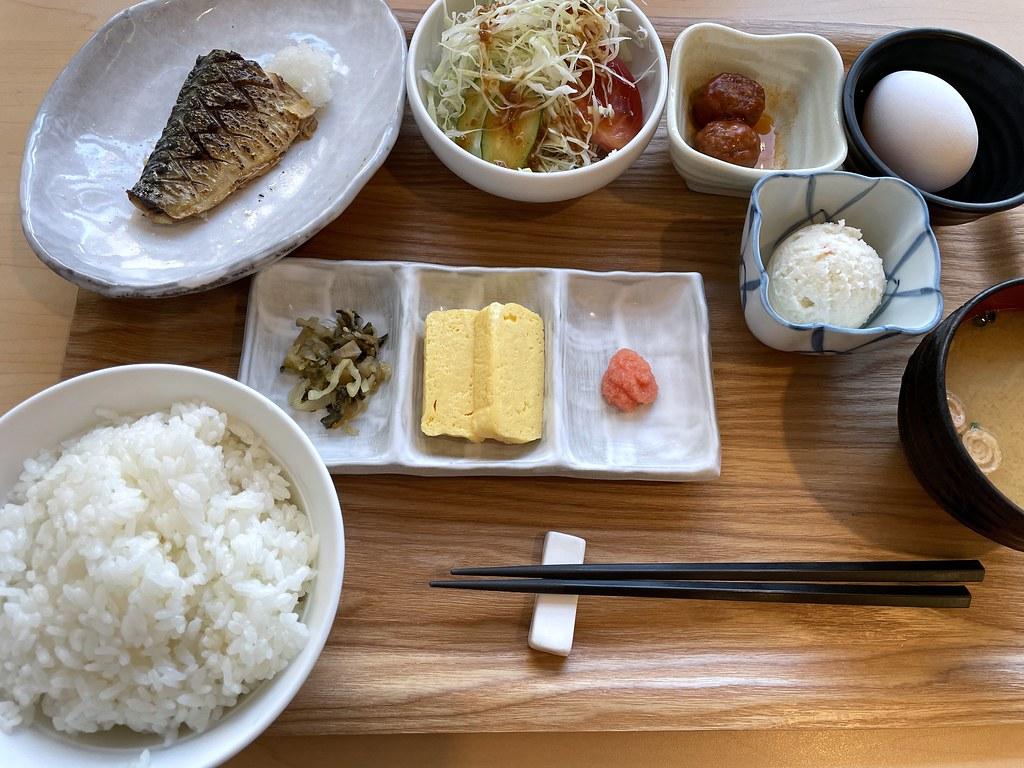 Breakfast from WELLBEE in Fukuoka
