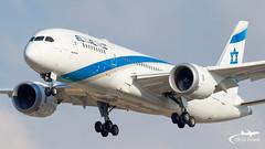 TLV - El Al Boeing 787-9 4X-ERC