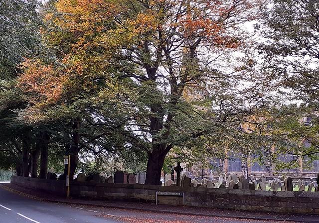 Autumn at Sefton Church