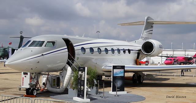 Gulfstream G650ER n° 6341 ~ N650GF  Gulfstream