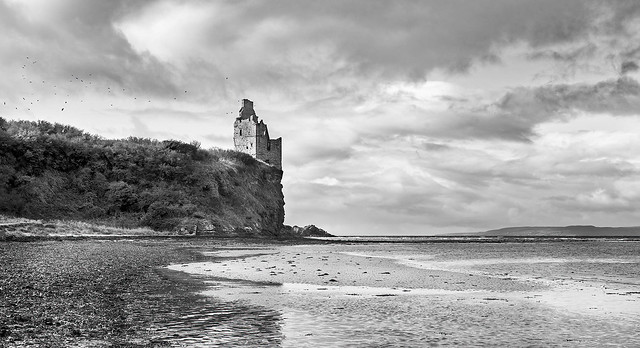 Greenan  castle Ruins...