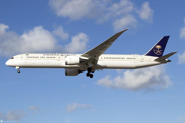 HZ-AR27  -  Boeing 787-10 Dreamliner  -  Saudi Arabian Airlines  -  LHR/EGLL 21/10/21
