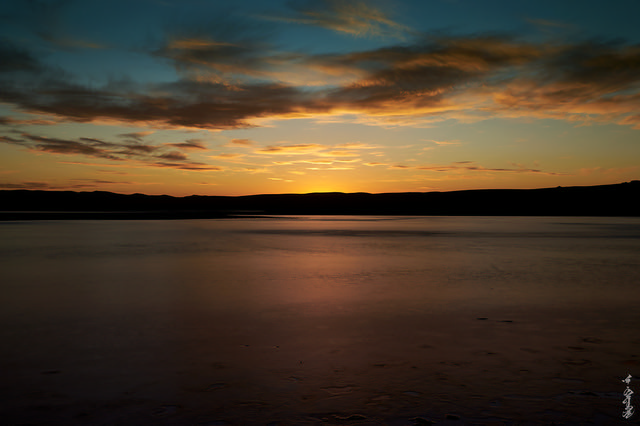 Frozen lakes and sunsets...