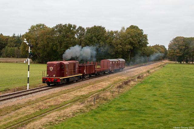 VSM 2459+goederentrein   Loenen